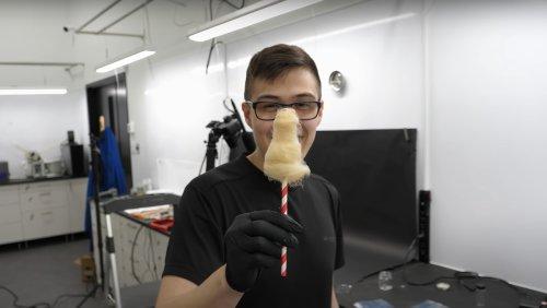 Watch a Chemist Turn Cotton Balls into Tasty Cotton Candy - Nerdist