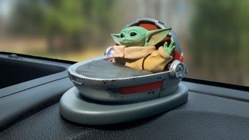 An Adorable Grogu Dashboard Waver Wants to Say Hello to You - Nerdist