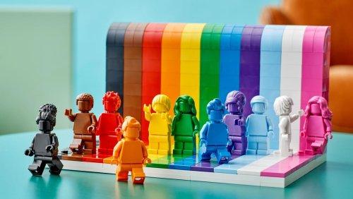 LEGO Reveals First Ever LGBTQ Pride Set Coming in June - Nerdist