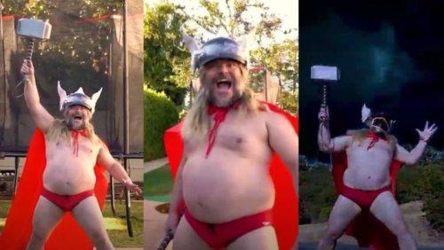 Jack Black Channels Thor in Adorably Goofy New Video - Nerdist