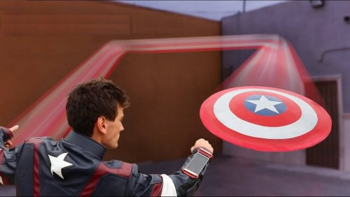 Fan-Made Captain America Shield Actually Bounces Back - Nerdist