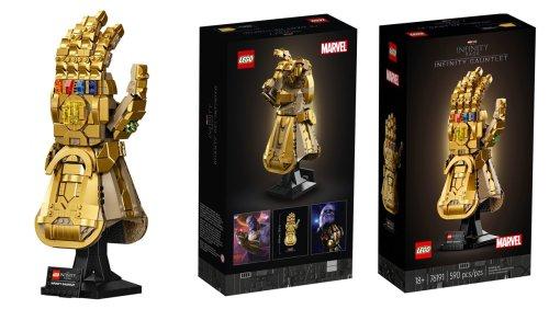 LEGO Infinity Gauntlet Is Perfect for Every Mini Mad Titan - Nerdist