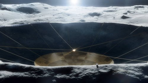 NASA Funds Research for Lunar Telescope and Fungi Brick Habitats - Nerdist