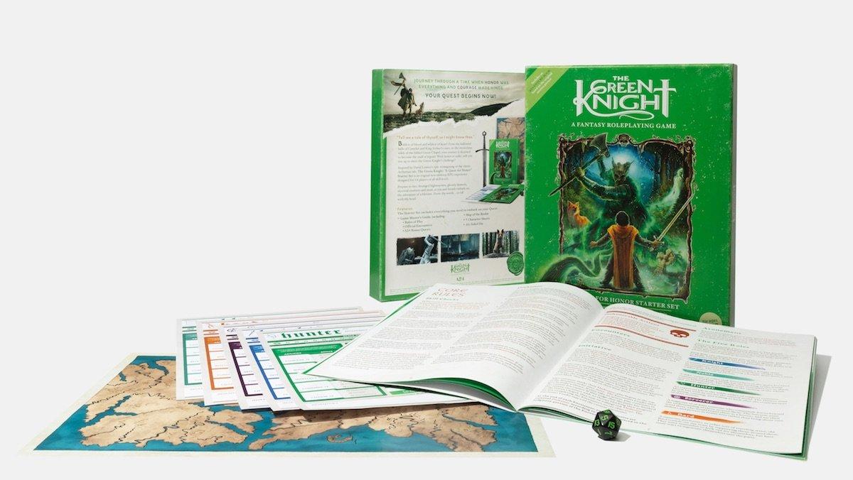 THE GREEN KNIGHT Gets an Original RPG - Nerdist