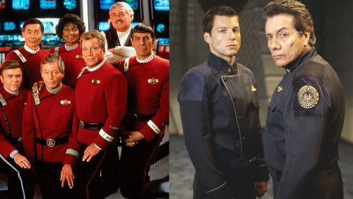 New Space Force Uniforms Mimic STAR TREK and BATTLESTAR GALACTICA - Nerdist