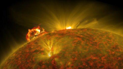NASA Captures Stunning Imagery of Plasma Blast on the Sun - Nerdist
