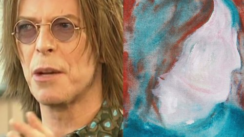David Bowie Painting Discovered at Thrift Shop Is Up for Auction - Nerdist