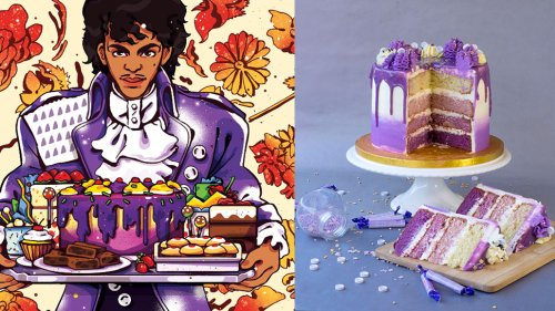 Make Purple Rain Cake and More Prince-Inspired Recipes with LITTLE RED VELVETTE - Nerdist