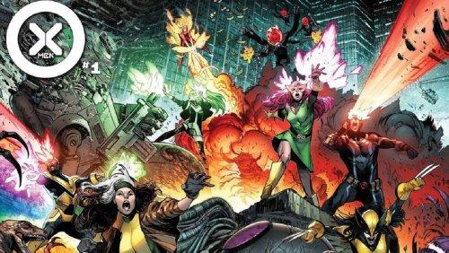 Marvel Comics' New X-MEN Series Launches with Trailer - Nerdist