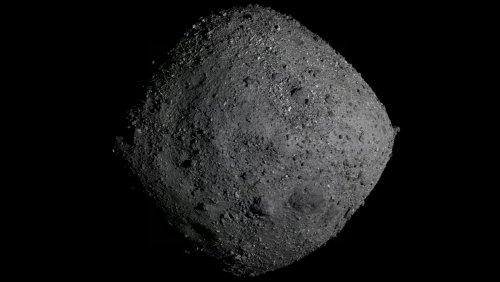 Video of NASA Probe Landing on Asteroid Is Otherworldly - Nerdist