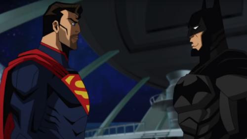 Superman Tells Batman Big News in Exclusive INJUSTICE Clip - Nerdist