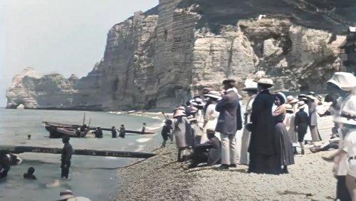 Upscaled Film of a 1899 Beach Day Is a Wild Peek into History - Nerdist