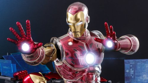 IRON MAN Gets Two Marvel Comics-Inspired Hot Toys Figures - Nerdist
