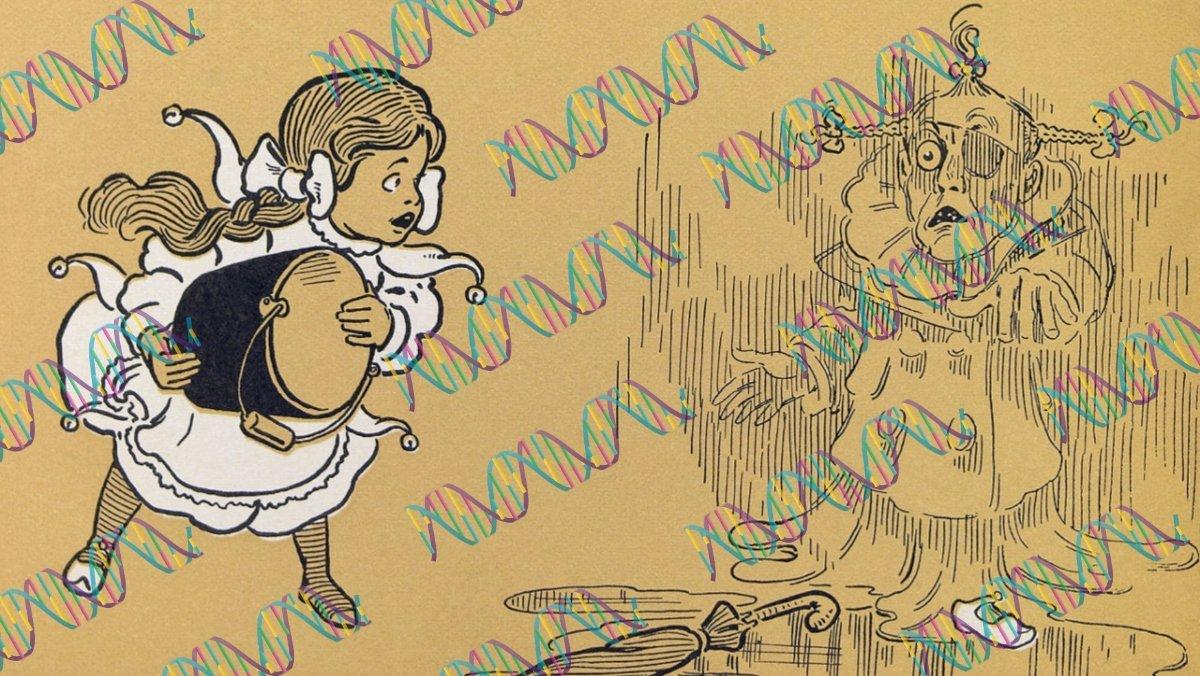 Entire WIZARD OF OZ Novel Encoded Onto Strands of DNA - Nerdist
