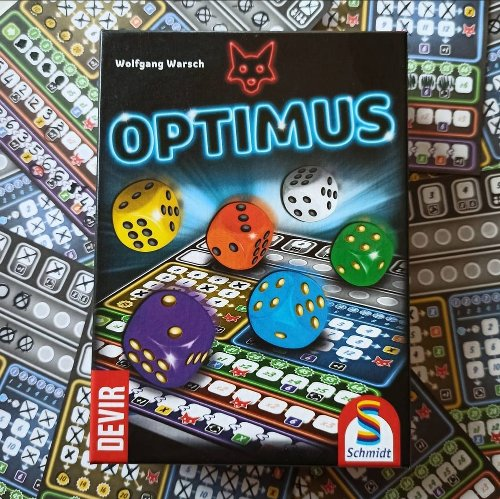 Gameplay giochi da tavolo – Una partita completa a Optimus (Ganz Schön Clever) – Devir Italia