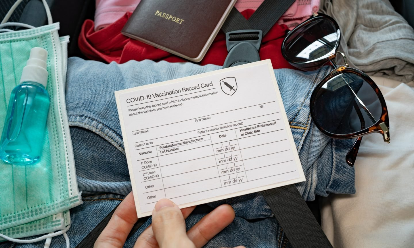 Do You Need to Pack Your COVID-19 Vaccination Card on Your Next Trip?