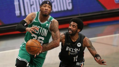 Marcus Smart Reacts After Celtics Fan Throws Water Bottle At Kyrie Irving