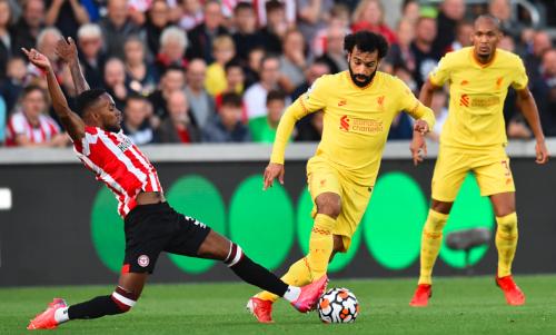 Liverpool Vs. Brentford: Mohamed Salah Nets 100th Career Premier League Goal In Draw