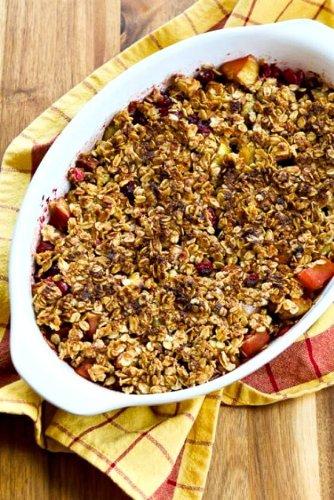 Cranberry Apple Crisp – Kalyn's Kitchen