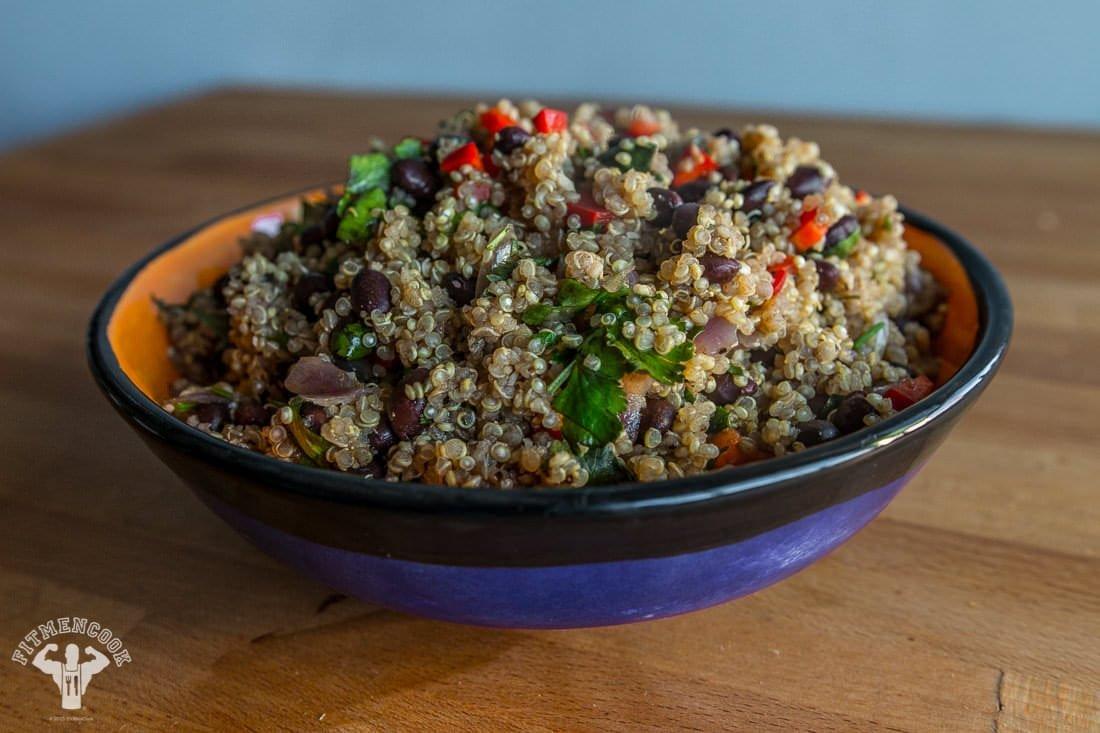 Mexican Quinoa (Vegan)