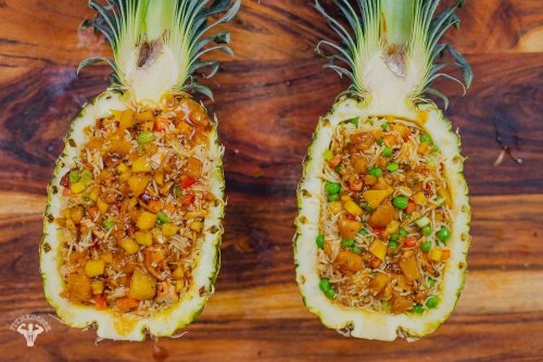 Pineapple Chicken and Rice Recipe - Fit Men Cook