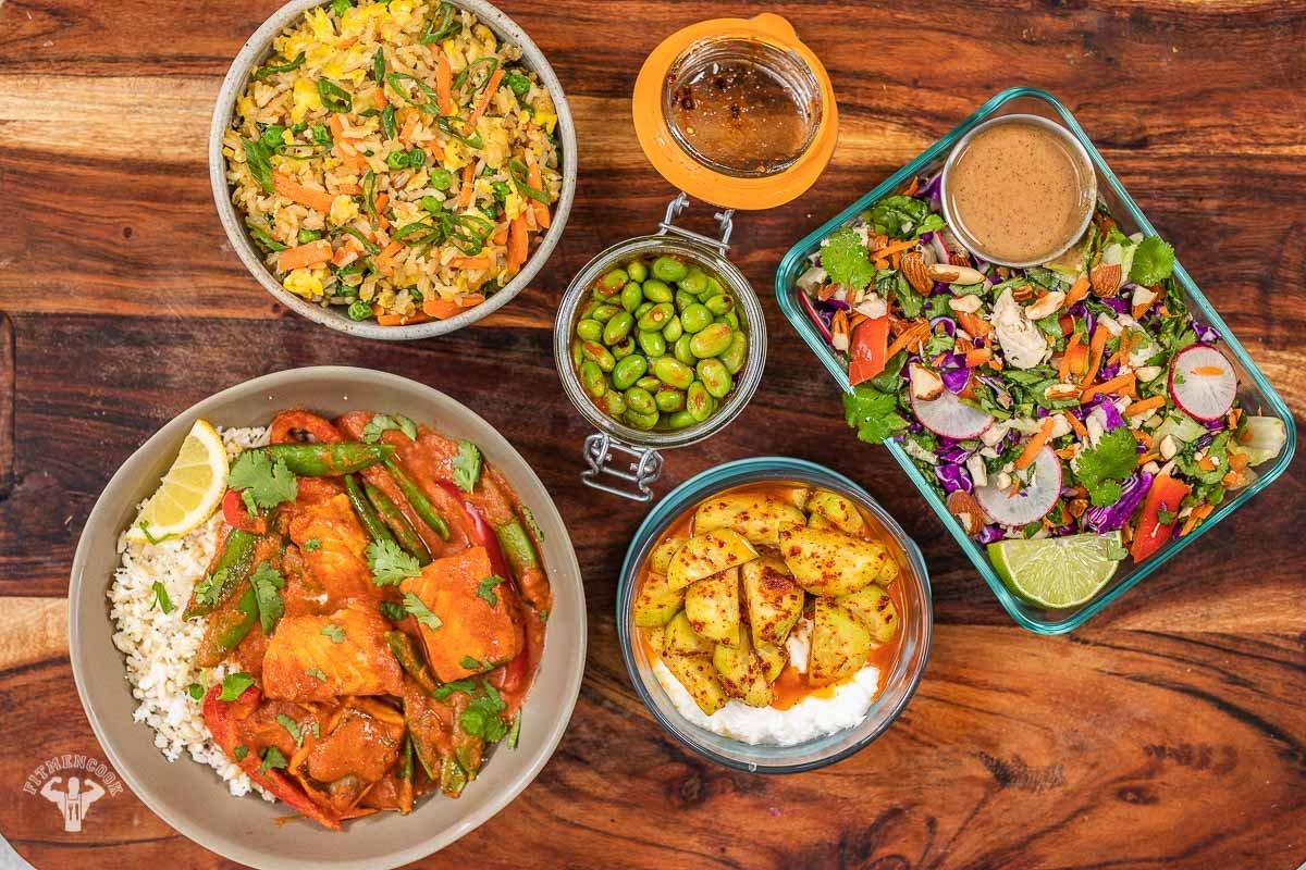 3 Day Asian Inspired Mediterranean Diet Meal Plan - Fit Men Cook