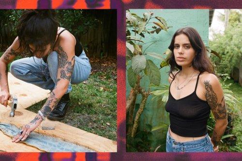 The designer hunting Florida's Burmese pythons to make clothes