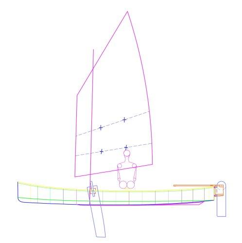 NEW plan, Kombi Sail and Paddle Canoe minimise compromise