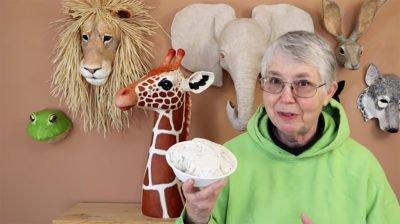 Jonni Good's DIY paper mache clay recipe