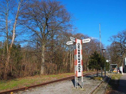 Wandern rund um den Hülser Berg und zur Schluff Bahn mit vielen spannenden Entdeckungen