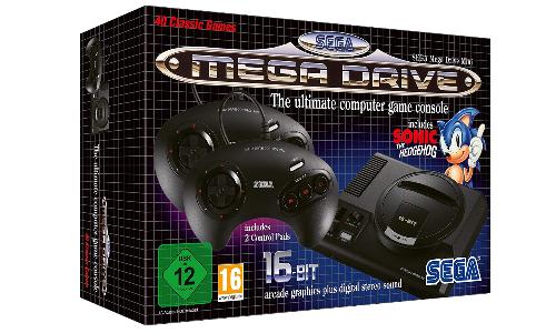 Sega Mega Drive Mini: Retro-Konsole erscheint mit 40 Spielen