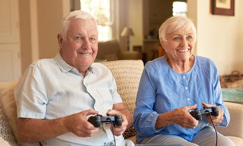 Zahl der Ü50-Zocker nimmt zu - rasantes Altern unter Gamern