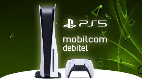 PS5 mit Vertrag kaufen: Bei Mobilcom-Debitel aktuell lieferbar