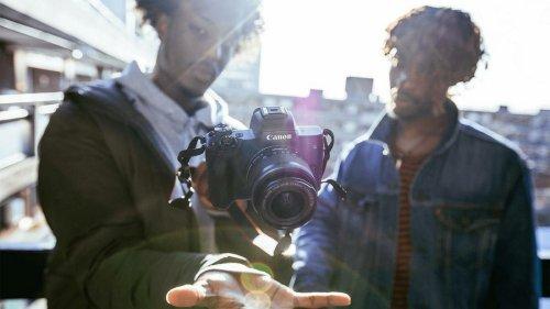 Canon EOS M50: Systemkamera mit zweitem Objektiv nur heute 200 Euro günstiger