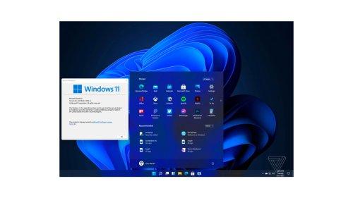 Windows 11 mit neuem Startmenü: Bilder zeigen kommendes Microsoft-OS