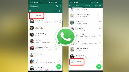 WhatsApp: So stellt ihr das alte Archiv wieder her