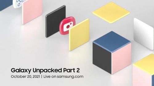 Galaxy S21 FE oder Tab S8: Samsung kündigt Unpacked-Event für den 20. Oktober an