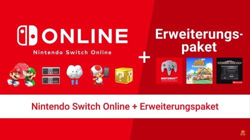 Nintendo Switch Online: Erweiterungspaket ab 26.10 verfügbar - so viel kostet es