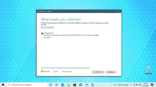 Windows 11: So löst ihr das Problem mit dem Cfosspeed Driver