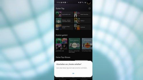 Android: App an Bildschirm pinnen - So geht´s
