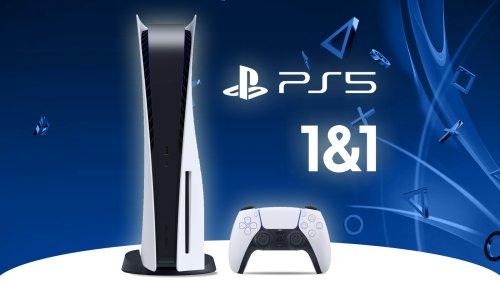 PS5 mit Vertrag kaufen: Bei 1&1 ist die Konsole verfügbar