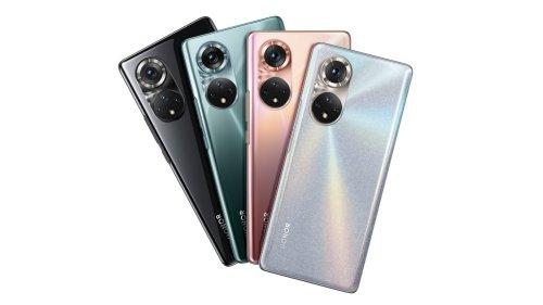 Honor 50 vorgestellt: Ein Huawei P50-Klon mit Google-Diensten