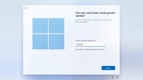 Windows 11 ohne Microsoft-Konto installieren: So geht's