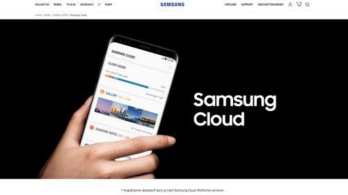 Samsung Cloud: Hersteller verlängert Zeitraum für OneDrive-Transfer
