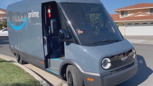 Amazon: Neuer Elektro-Lieferwagen liefert Pakete mit diesem Nerv-Sound aus