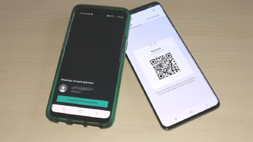 Auf dem Handy gespeicherten QR-Code auslesen: So geht's