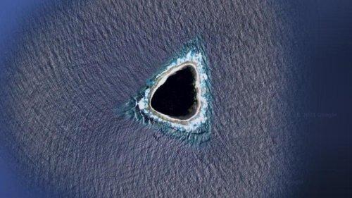"""Google Maps: """"Abfluss"""" im Ozean sorgt für Aufsehen im Netz"""