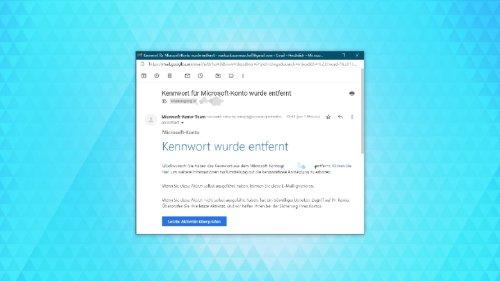 Microsoft: So logt ihr euch ohne Passwort in euer Konto ein