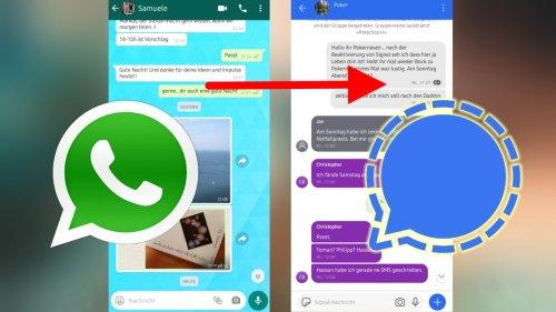 Von WhatsApp zu Signal wechseln: So klappt der Umstieg reibungslos