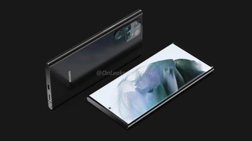 Galaxy S22: Ultra-Modell soll S-Pen-Slot aufweisen
